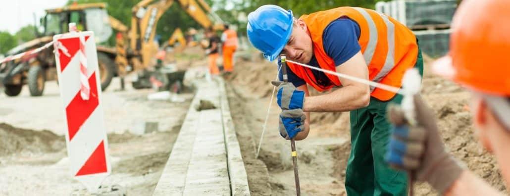 construction worker golf capital improvement
