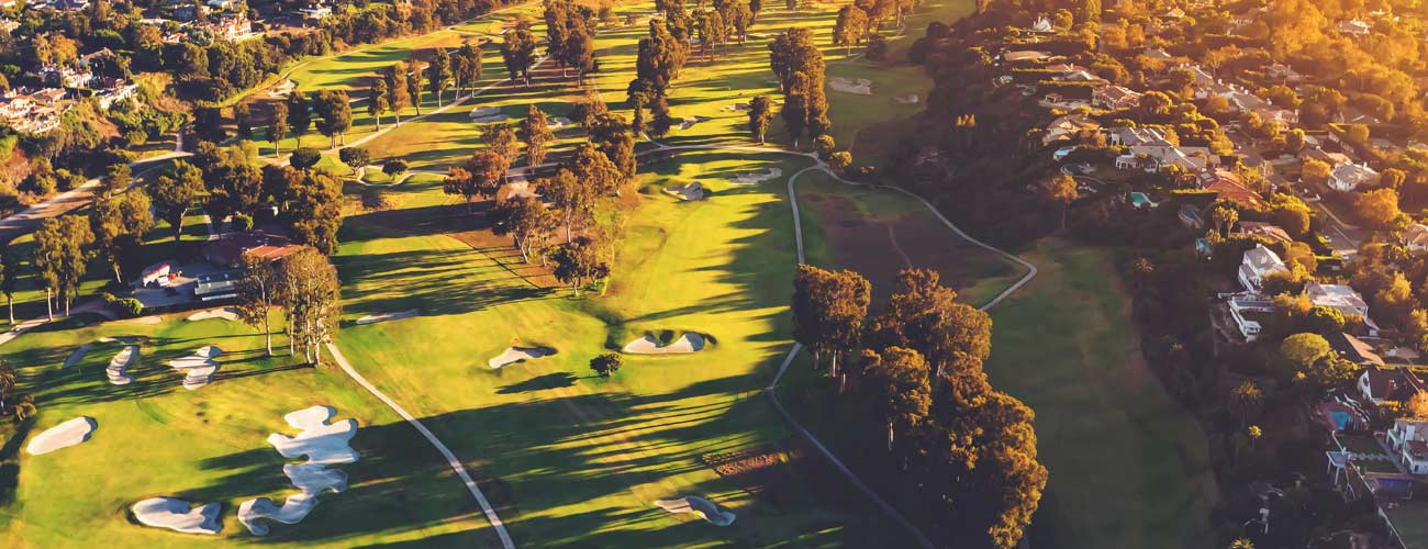 aerial photo golf course leasing in northeast