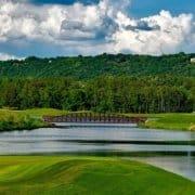 golf bridge private club turnaround