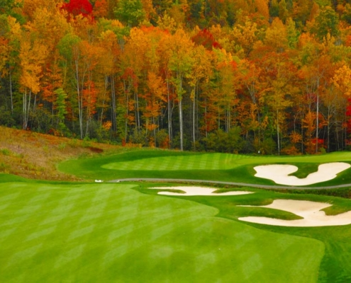 marketing a private golf club in new england